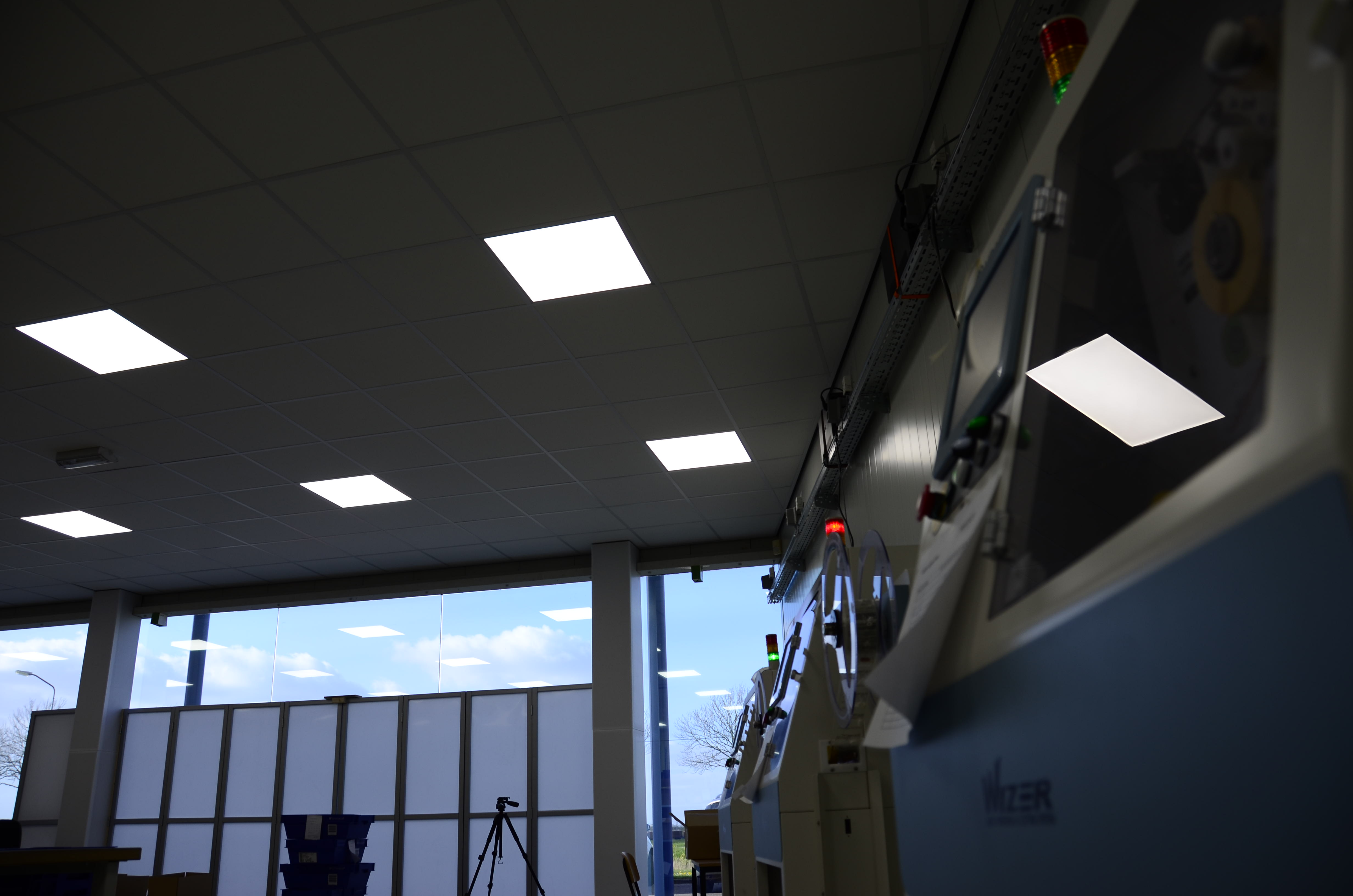 Daglicht led panelen 60x60